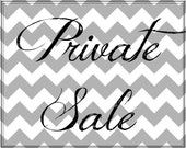 Private Sale for Emily