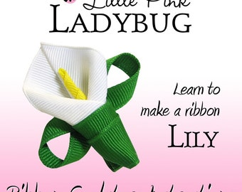 Ribbon Sculpture Instruction - Lily