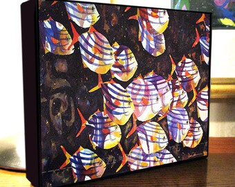"Fish Art ""Spirit Fish"" Gallery Wrap Canvas Print Signed and Numbered"