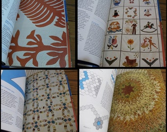 vintage Quiltmaking For Your Home by Eileen Gonin and Jill Newton, 1974 DIY quilts craft pattern book,  HC DJ