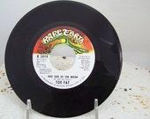 Vinyl record Bad Side of the Moon 1970 Toe Fat  Elton John 45 rpm label Rare Earth  promo copy Ken Hensley Uriah Heep hard to find