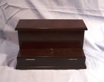 Original Bombay Envelope and Stamp Holder, Wooden Organizer, Display