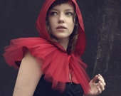 Little Red Riding Hood costume, red cape, adult halloween costume,girls n women