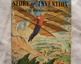 1924 The Boys story of Invention book