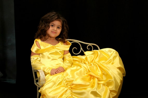 BELLE Beauty and the Beast Custom Boutique Dress Up Costume 3/4