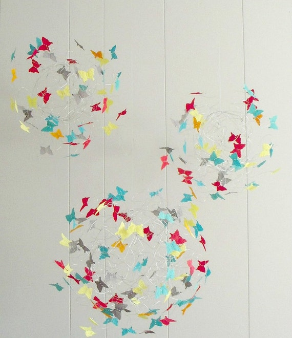 Baby Mobiles, Nursery Mobiles, Butterfly Mobiles, Baby Nursery Decor, Crib Mobiles