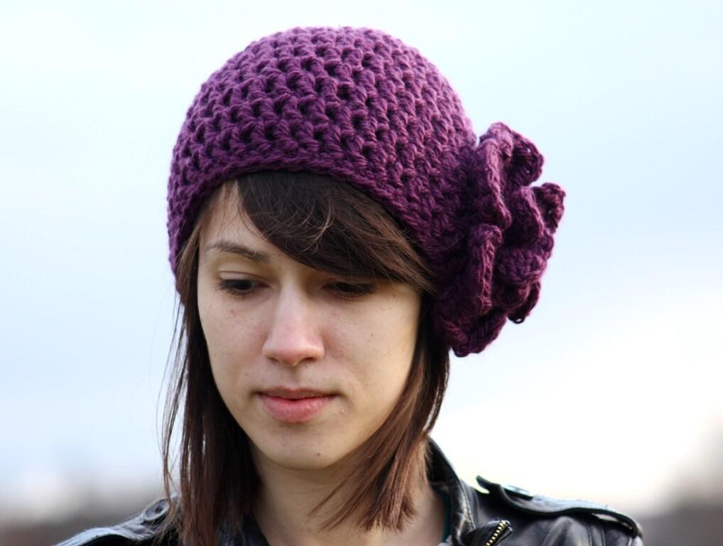 s beanie hat with flower beanie hat with flower by zukas