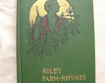 1905 Riley Farm Rhymes Book