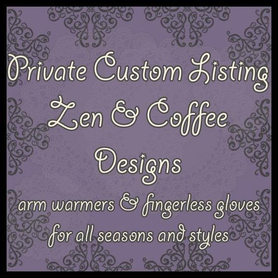 Custom Order for Judy - Monarch Arm Warmers - Sweater Knit - Rust Orange Yellow Black Cream Brown Foliage - Bohemian Yoga Gothic Woodland