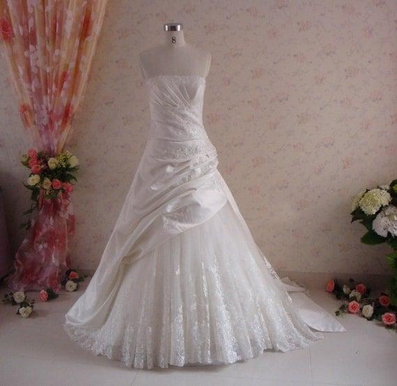 Slimming A-Line Wedding Dress
