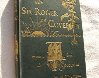 1892 Days with Sir Roger de Coverley illustrated book