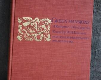vintage book: Green Mansions