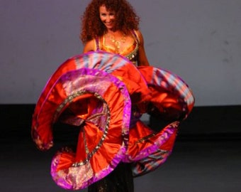 Made-to-Order Gypsy-Style Belly Dance Costume