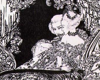 Manon Lescaut Box Seats By Alastair Original 1930s Puccini Opera Print To Frame