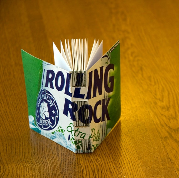 Rolling Rock Extra Pale Beer Box Book