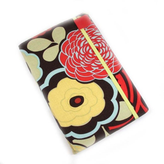 Kindle Fire Cover - Mocca Chocolate Floral - fits First Generation Fire - KF1