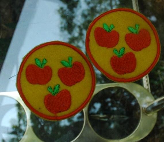 Apple Jack Pony Cutie Patch/Badge MLP Felt Sew on Free Shipping