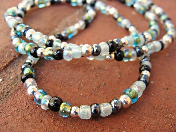 Hint of Silver 3 - Handmade Eyeglass Chain