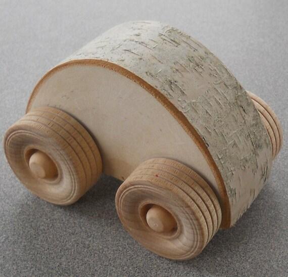 Items Similar To Wooden Car Natural Waldorf Toy Small