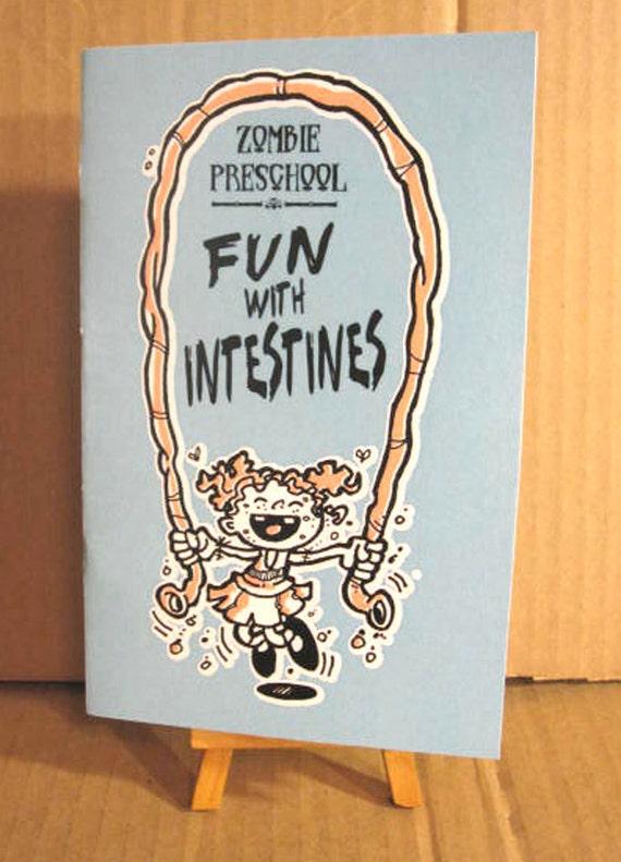 Zombie Preschool Fun with Intestines Mini Comic
