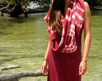 The Kathmandu Organic Maxi Dress. Sustainable organic hemp custom made clothing by Grateful Threads Asheville. Handmade. Conscious. Bespoke.
