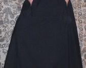 Black scrub skirt specifically for Fleurdamour
