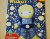 Wee Wonderfuls Pattern Book Two: Spaceboy and Robot Toy Sewing Patterns