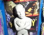 The Mummy Monster Halloween Shadow Box Shrine