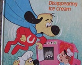 Underdog and the Disappearing Ice Cream - vintage Little Golden Book 1976