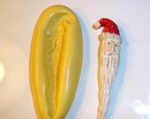 Christmas Santa Flexible Mold Mould For Resin Paper Clay Sculpey Fimo Polymer Premo Wax Chocolate  H201