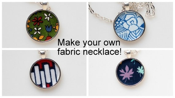 kibbles 39 n knits fabric necklace diy kit