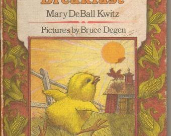 Little Chick's Breakfast by Mary DeBall Kwitz