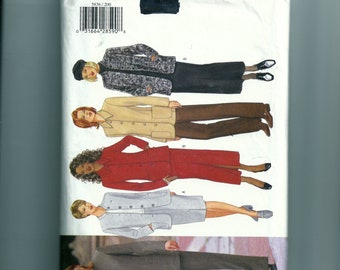 Butterick Misses' Petite Jacket, Skirt, and Pants Pattern 5836