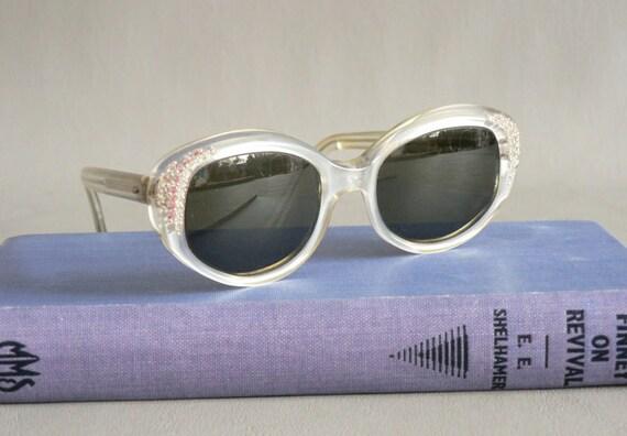 Women's Vintage Rhinestone Sunglasses