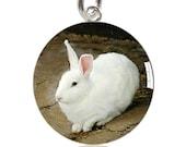 White Rabbit Charm or Pendant