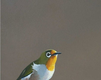 The Call Is Coming From Inside The House- Specifically The Back Left Pocket Of Your Jeans - 7 x 5 bird art print