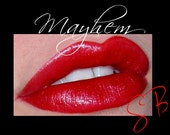 Mayhem-(Medium Red) Cheek and Lip Color Mineral makeup Lipstick