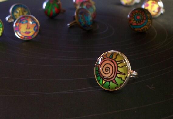 SOLAR flare ART Ring
