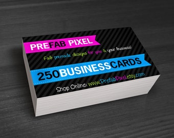 250 Business Cards - Printing Only