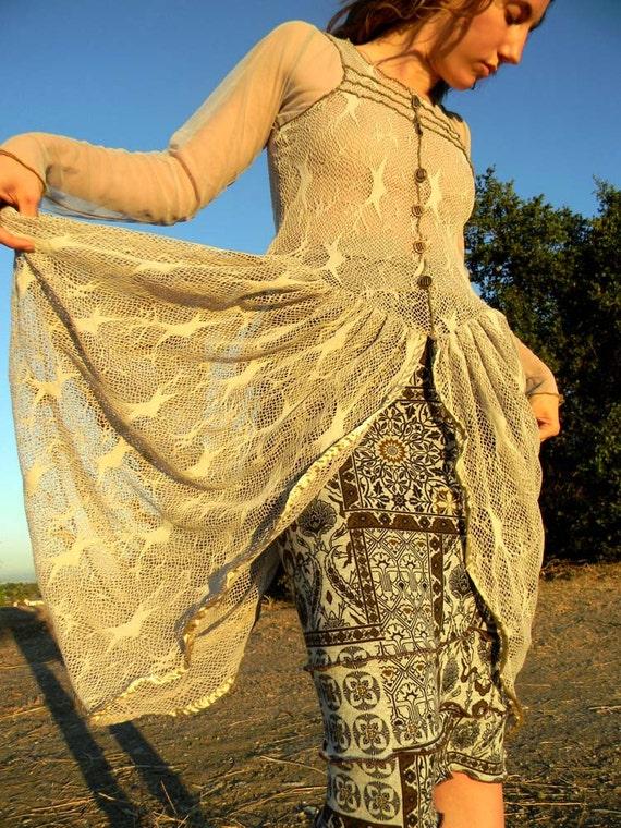 Moth Wing Dress