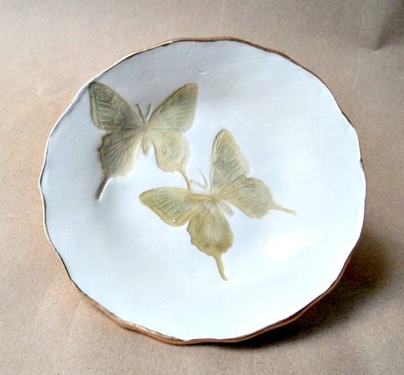 Ceramic Butterfly Bowl