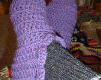 PDF Favorite Slippers Crochet Pattern Immediate Download