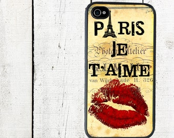iphone 6 case Paris Je Taime iPhone case iPhone 4 4s Case - iPhone 5 Case