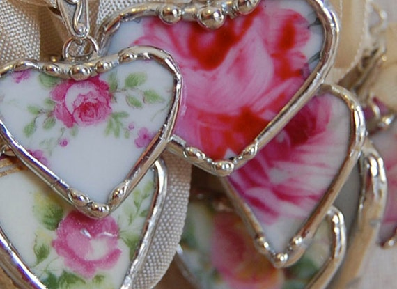 Make Beautiful Broken China Jewelry Workshop  by Shari Replogle