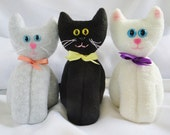 Momma Cat Doll - Kitty Doll - Plush