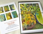 Tree of Life Series - set of 6 Blank Note Cards by Jenlo