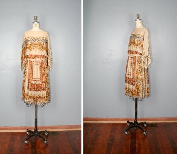 vintage . INDIAN SUMMER . sheer . folklore . ethnic . hippie . dress