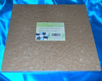 Soldering Help: 12 x 12 inch ((( HEAT RESISTANT ))) work surface space for small projects, tools and equipment.