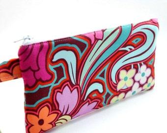 Zippered Wristlet- Amy Butler Fabric