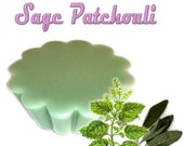 4 Sage Patchouli Wax Tart Wickless Candle Melt Herbal Citrus Scent